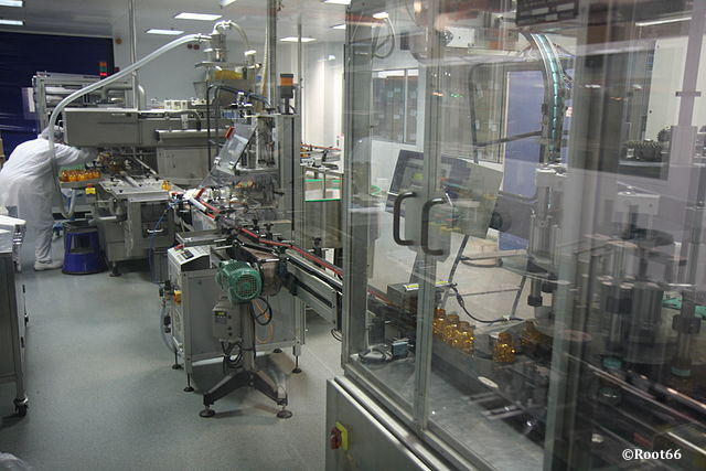 Laboratoires pharmaceutiques production